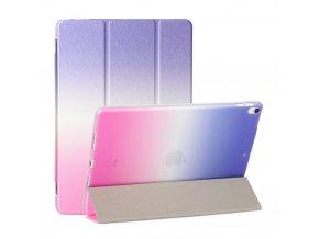 Kryt Colorfull Case s ochranou displeje pro iPad 2/3/4 - Fialovo-Růžový