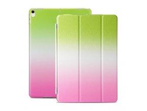 Kryt Colorfull Case s ochranou displeje pro iPad 2/3/4 - Zeleno-Růžový