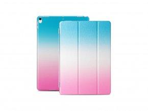 Kryt Colorfull Case s ochranou displeje pro iPad 2/3/4 - Modro-Růžový