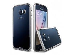 Kryt Verus Iron Bumper pro Samsung Galaxy S6 stříbrný