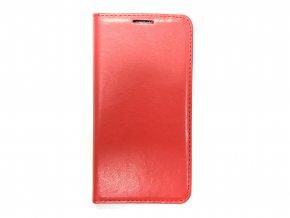 Magnetické Pouzdro Classic Case pro Samsung Galaxy S6 EDGE - Červený