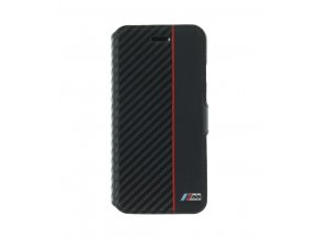 Pouzdro BMW M Collection Book pro iPhone 7/8, Black