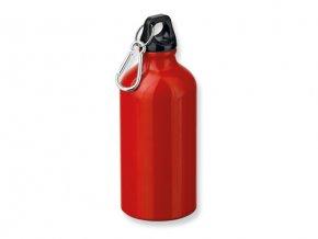 BARAC hliníková outdoorová láhev, 500 ml červená