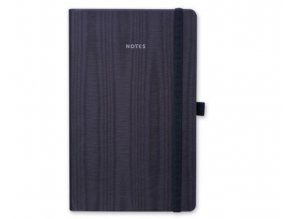 Poznámkový zápisník s gumičkou NOTY 130x210 mm, modrý