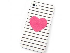 Kryt Heart pro iPhone 4/4S