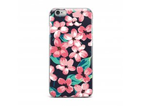 Kryt Clearo Flower Garden pro iPhone 5/5S/SE
