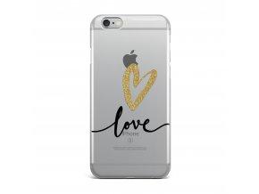 Kryt Clearo Love Heart Garden pro iPhone 7/8