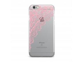 Kryt Clearo Pink Corner pro iPhone 5/5S/SE