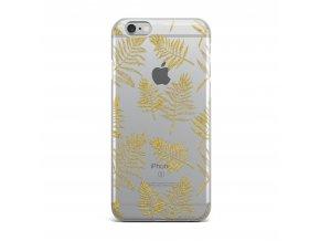 Kryt Clearo Golden Leaf pro iPhone 5/5S/SE