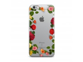 Kryt Clearo Roses Circle pro iPhone 5/5S/SE