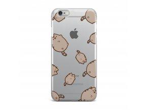 Kryt Clearo Smiley Cat pro iPhone 5/5S/SE