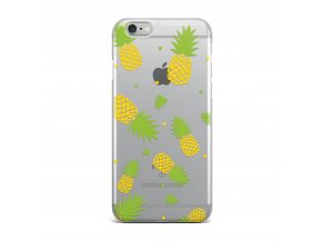 Kryt Clearo Pink Pineapples pro iPhone 5/5S/SE
