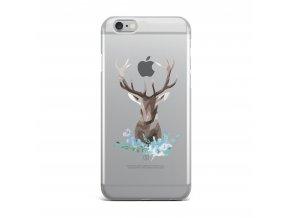 Kryt Clearo Mosaic Deer pro iPhone 5/5S/SE