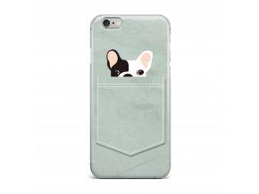 Kryt Clearo Pocket Dog pro iPhone 5/5S/SE
