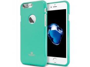 Kryt Jelly Case Mercury pro Apple iPhone X, mint