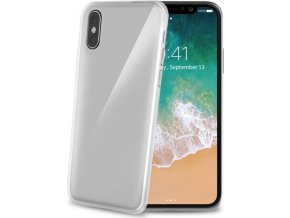 Kryt TPU CELLY Gelskin pro Apple iPhone X, bezbarvé