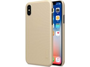 Kryt Nillkin Super Frosted pro iPhone X, Gold