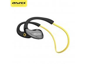 AWEI A880BL Bluetooth bezdrátová sluchátka, Yellow
