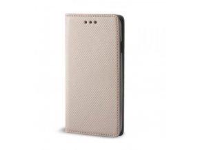 Magnetické pouzdro Clearo Flip pro iPhone 5/5S/SE, zlaté