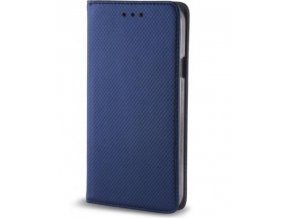 Magnetické pouzdro Clearo Flip pro iPhone 7/8, modré