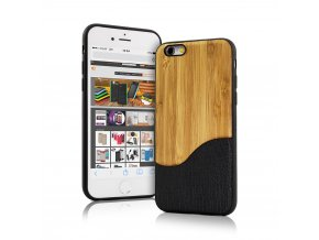 BLACKMOON BACK CASE WOOD WAVE IPHONE 6:6S BLACK 2