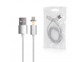 MAGNETIC LIGHTNING USB CABLE SILVER