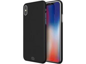 Kryt Odzu Crystal Thin Case, black iPhone X