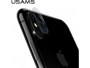 USAMS BH400 tvrzene sklo na cocku iphone x
