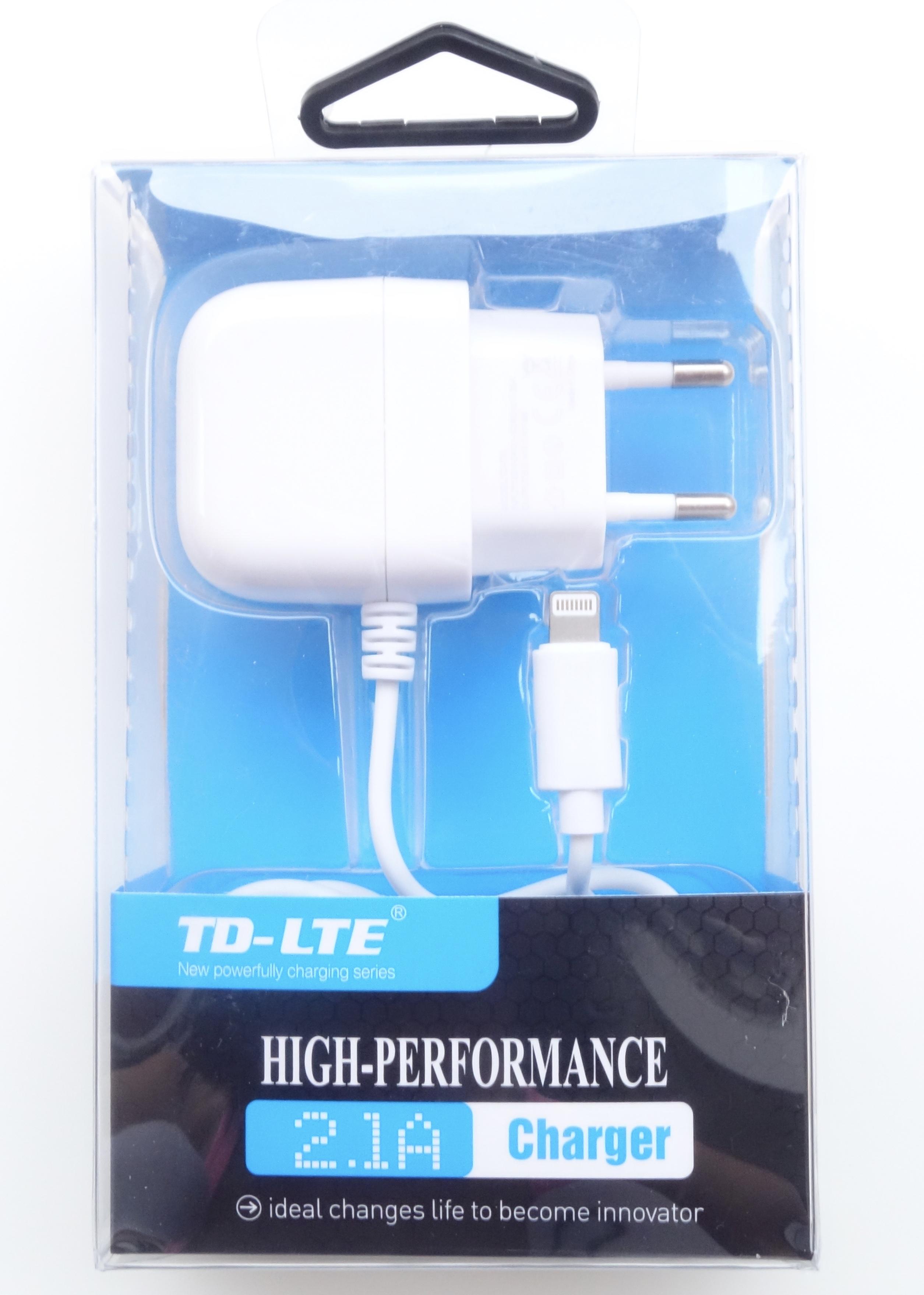 Nabíječka TD-LTE 2.1A pro iPhone 5 / 5S / SE / 6 / 6S / 6 PLUS / iPad