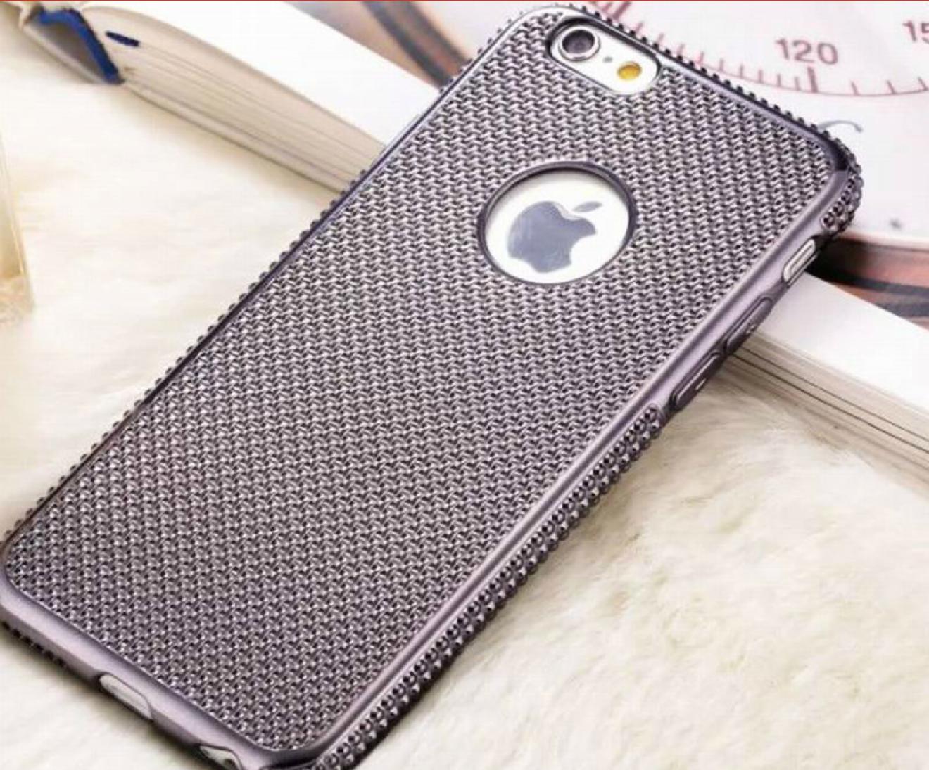 Kryt Metal Jelly pro iPhone 6 / 6S Barva: Space Grey