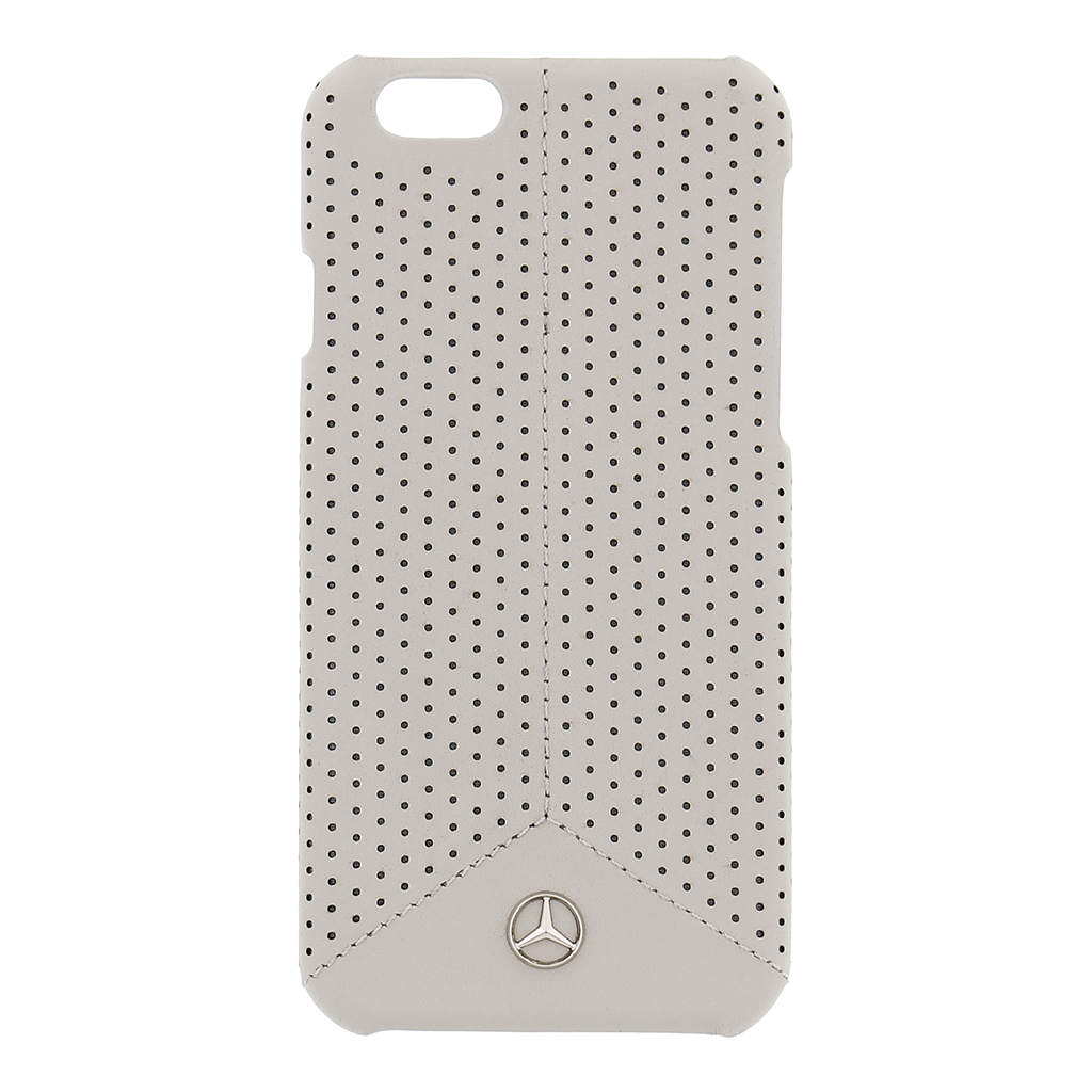 Kryt Mercedes Perforated Grey pro iPhone 6/6S