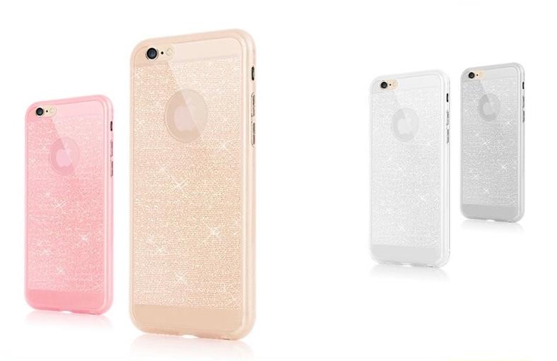 Stylový kryt pro iPhone 5/5S - Glitter Barva: Zlatý