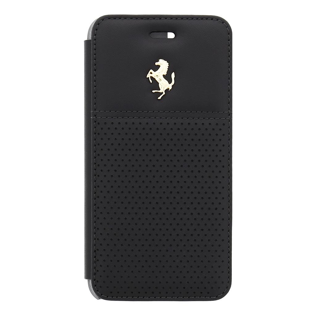 Pouzdro Ferrari GTB Book Black pro iPhone 6/6S