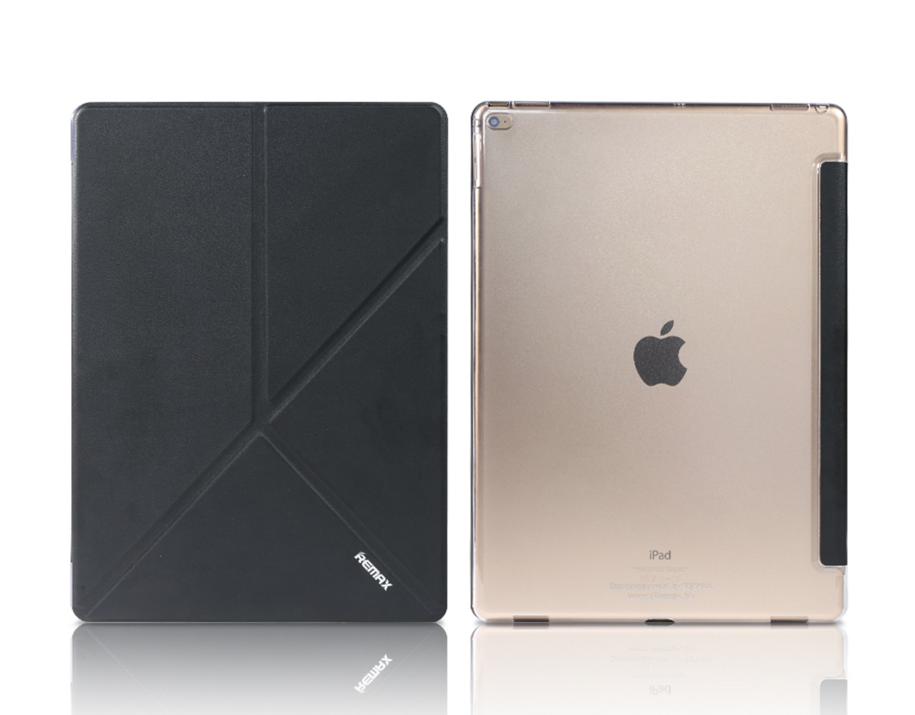 Kryt/Pouzdro Remax skládací Black pro iPad Air 2