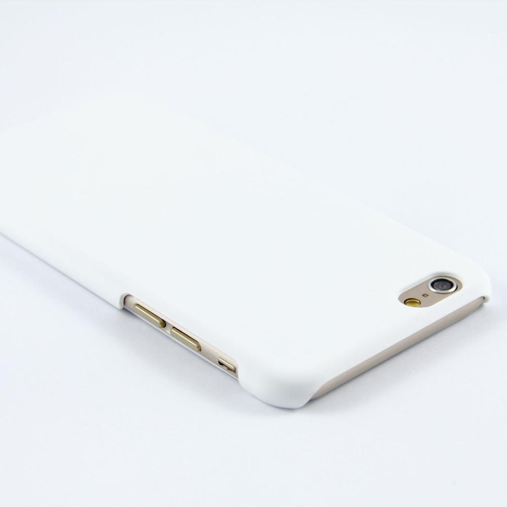 Luxusní kryt Soft Touch pro iPhone 6/6S Barva: Bílý