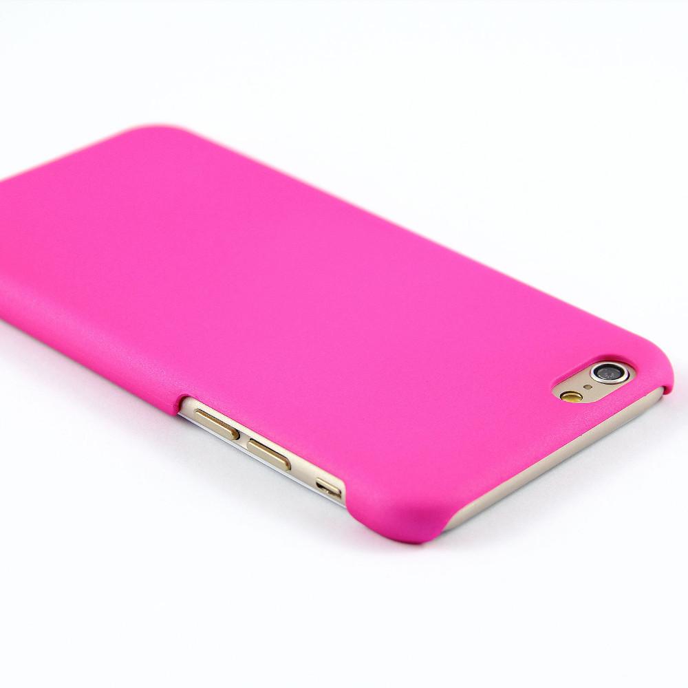 Luxusní kryt Soft Touch pro iPhone 6/6S Barva: Růžový