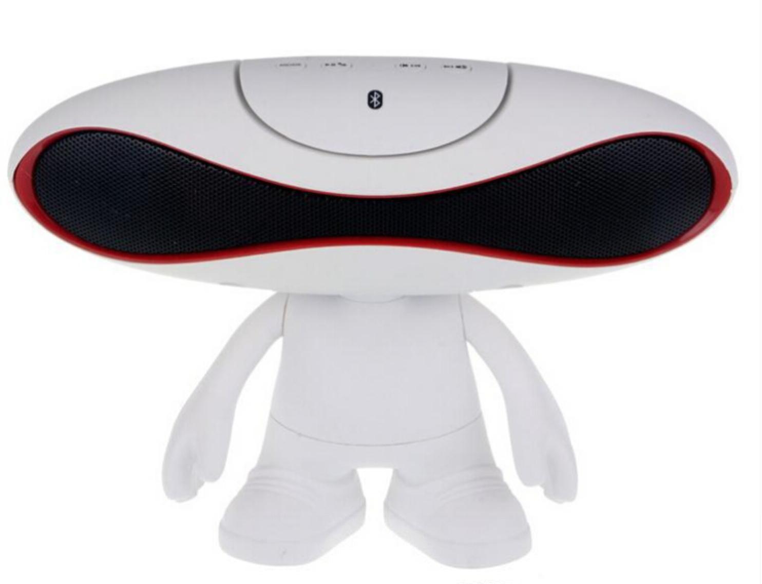 Bluetooth reproduktor Rugby Boy 2v1 s podsvícením Barva: Bílý
