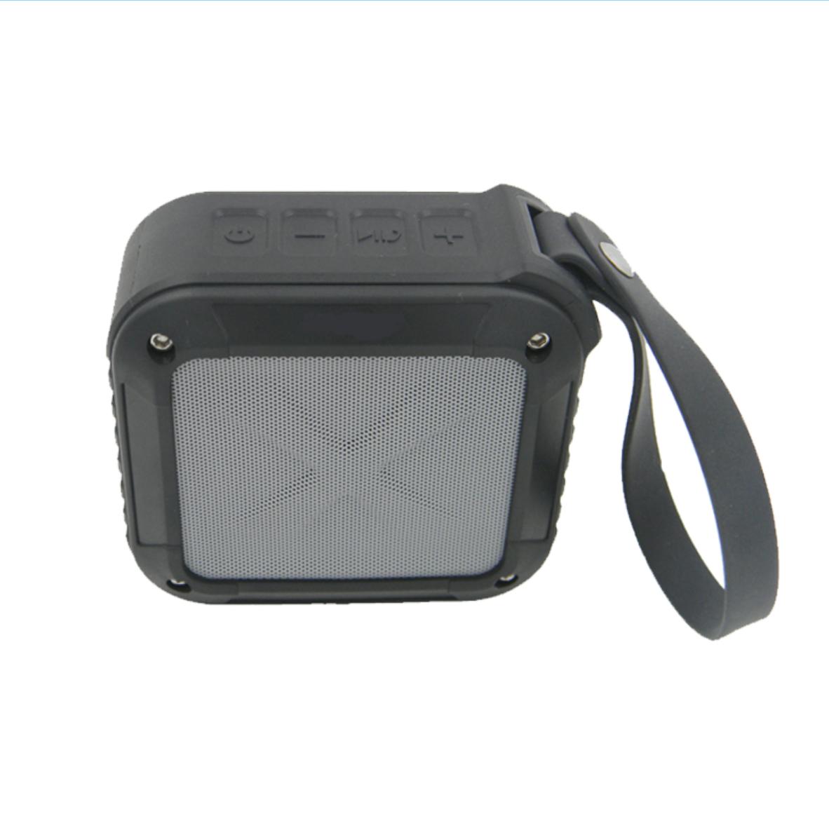 Bezdrátový voděodolný Bluetooth reproduktor s NFC W-King™ Barva: Černý