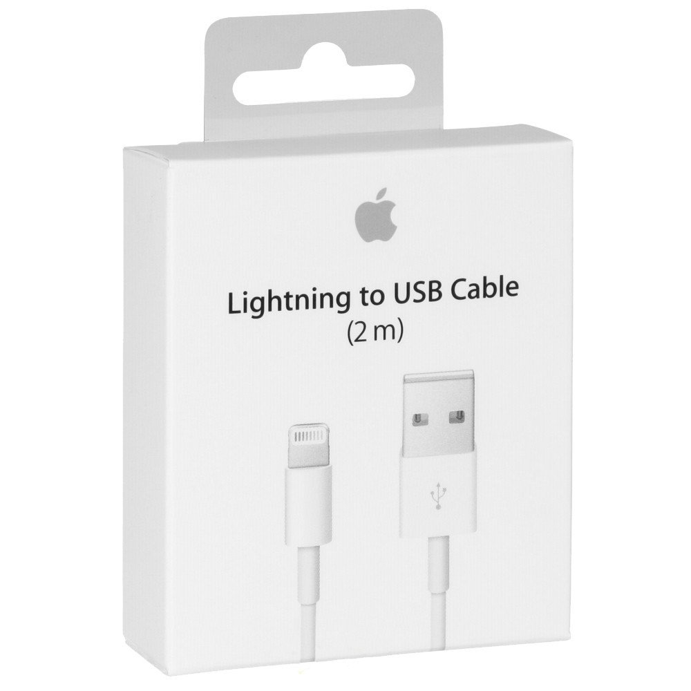 Originální USB datový Lightning kabel Apple MD819 - 2m (retail pack)
