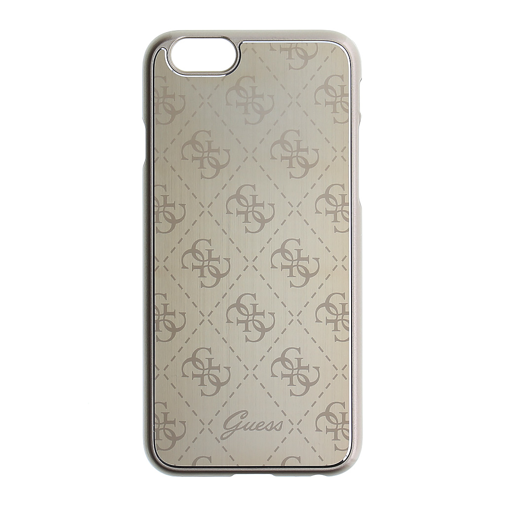 Kryt Guess 4G Metallic Hard Gold pro iPhone 6/6s