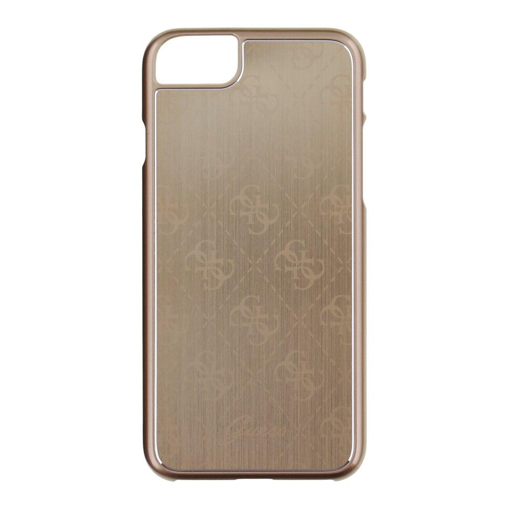 Kryt Guess 4G Aluminium Gold pro iPhone 7