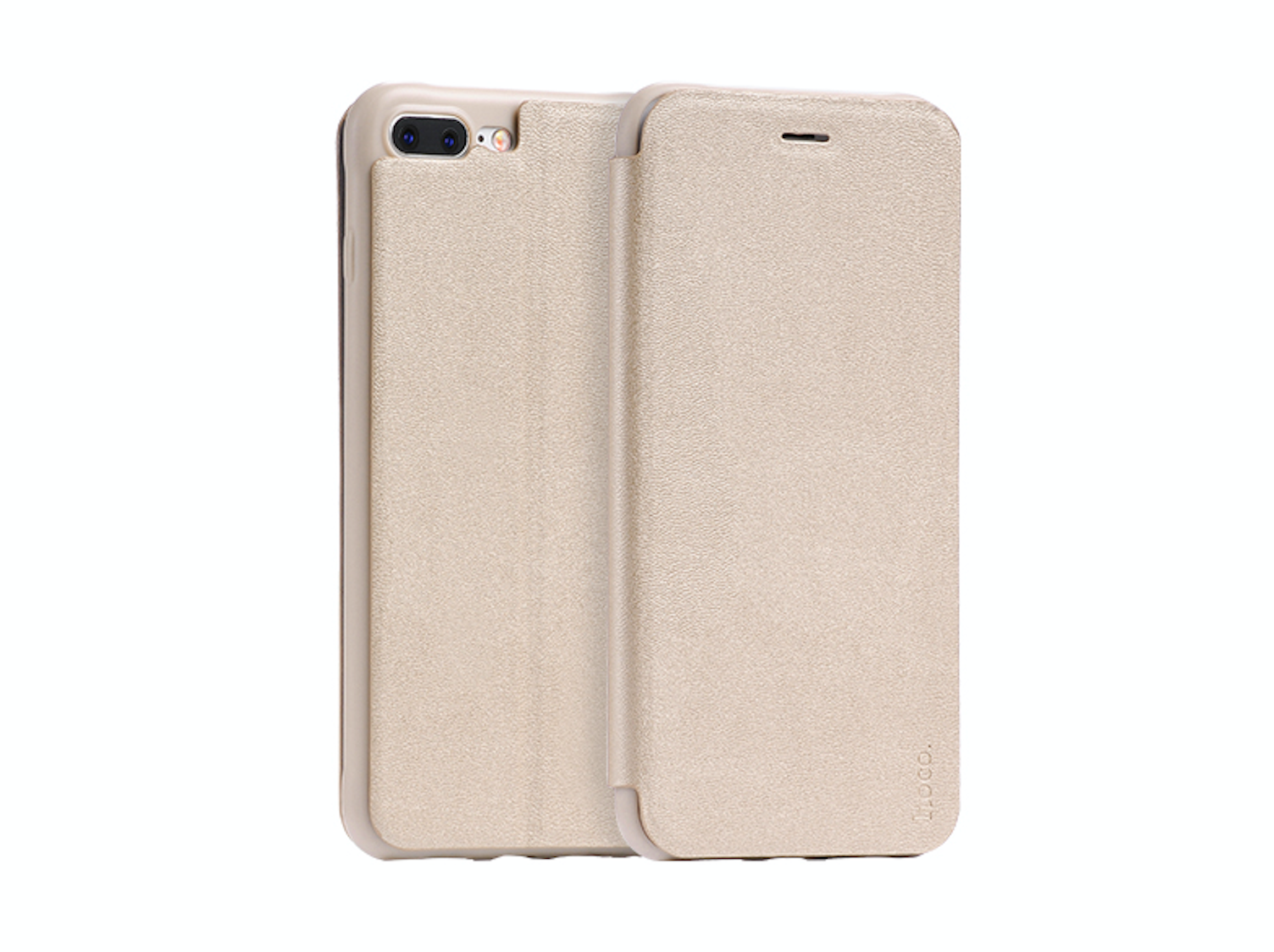 Pouzdro HOCO Nappa Leather – Gold pro Apple iPhone 7 Plus