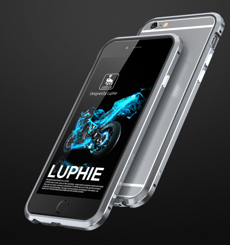 Luphie Bumper Blade Sword (8 variant) pro iPhone 6/6S Barva: Space Grey
