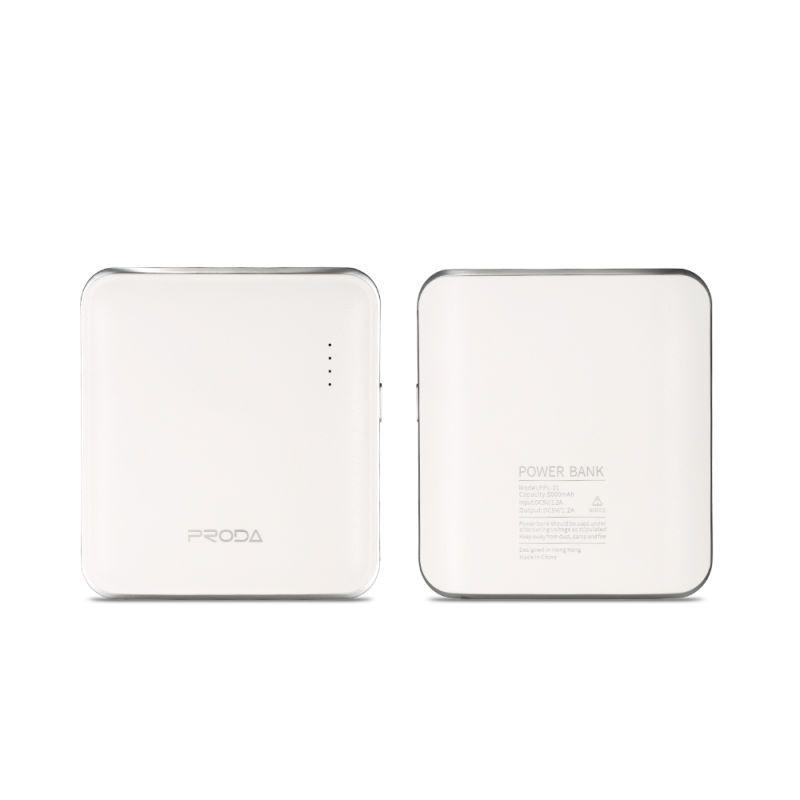 Remax PPL-21 MInk PowerBank 5000mAh Li-Pol White (EU Blister) Externí baterie / Power Banka