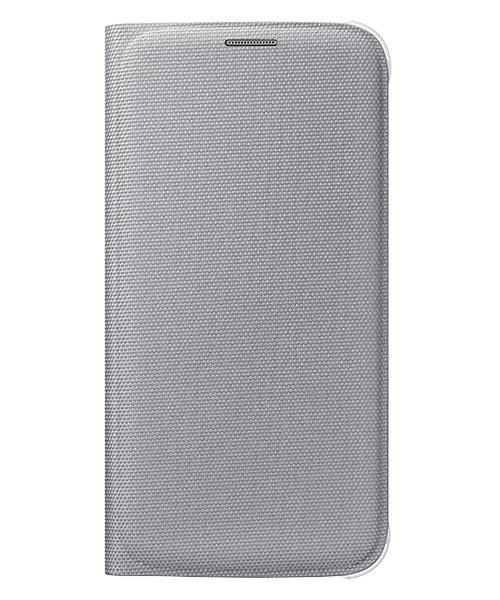Pouzdro Samsung Wallet Silver pro G920 Galaxy S6 (EU Blister)