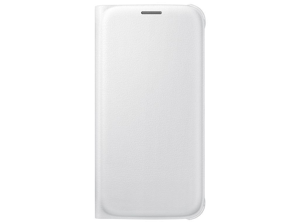 Pouzdro Samsung Wallet White pro G920 Galaxy S6 (EU Blister)
