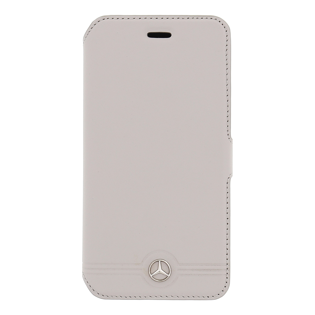 Pouzdro Mercedes Book Grill Grey pro iPhone 6/6S