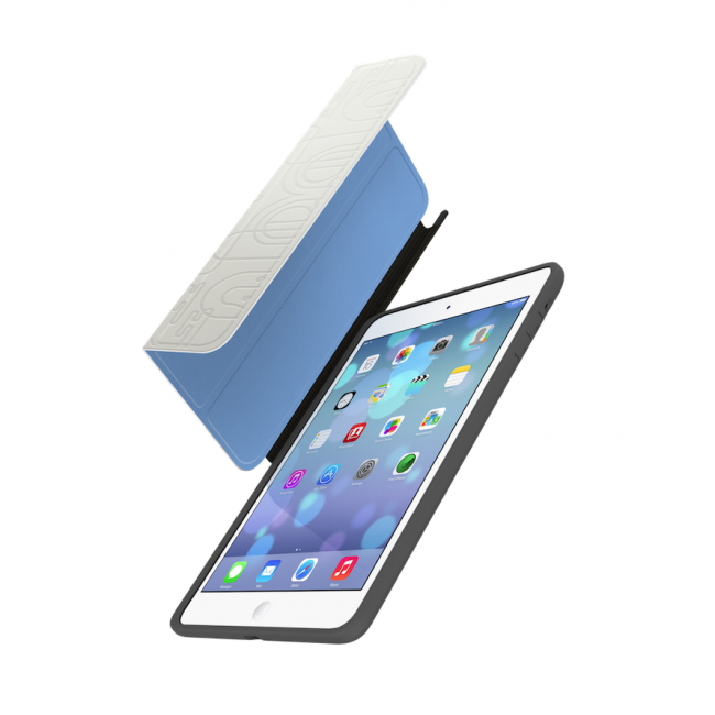 Kryt 2v1 LAB.C 3Way Reversible pro iPad mini/mini Retina - bílý/modrý
