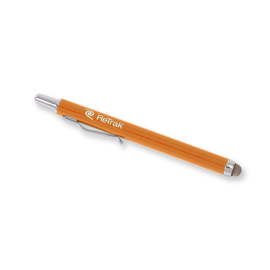 ReTrak Retractable Stylus oranžový