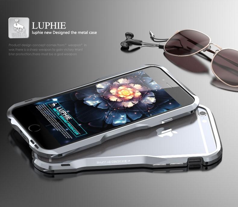 Luphie Bumper Samurai Sword pro iPhone 6/6S (3 barvy) Barva: Space Grey